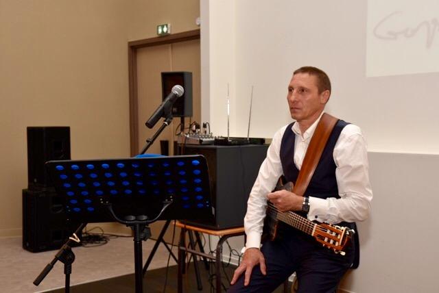 photo avec guitare