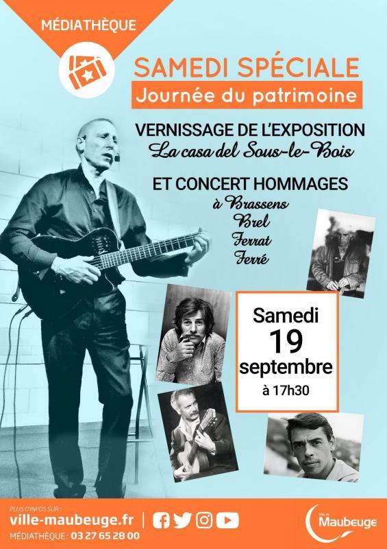 Affiche concert maubeuge 19 09 20